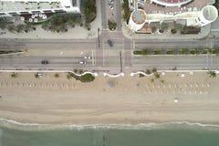 Imagem aérea da praia FL do Fort Lauderdale Foto de Stock Royalty Free