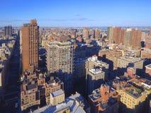 Imagem aérea de New York City Manhattan Imagens de Stock