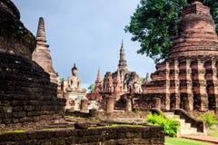 Imagem assentada de buddha fotografia de stock