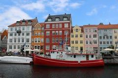 Imagem bonita da arquitetura de Copenhaga imagem de stock royalty free