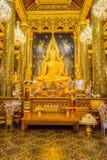 Imagem bonita da Buda na igreja budista Foto de Stock