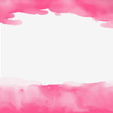 Imagem bonita do fundo abstrato do rosa da aquarela Fotografia de Stock Royalty Free