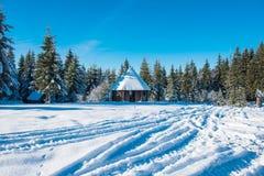 Imagem bonita do inverno landscape imagens de stock
