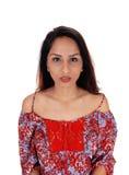 Imagem bonita do retrato da jovem mulher Fotos de Stock