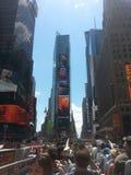 Imagem bonita dos Times Square New York Imagem de Stock