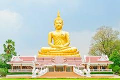 Imagem bonita de Buddha em Tailândia Fotos de Stock