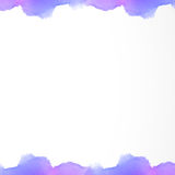 Imagem bonita violeta do pastelcolor abstrato da aquarela do fundo Imagem de Stock Royalty Free
