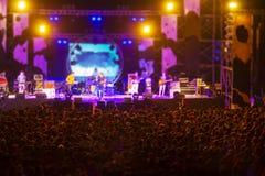 Imagem borrada do concerto vivo livre Imagem de Stock Royalty Free