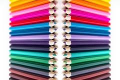 Imagem brilhante de lápis coloridos Foto de Stock Royalty Free