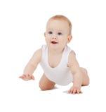 Bebé de rastejamento Fotos de Stock
