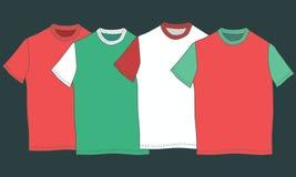 Imagem com t-shirt colorido Fotos de Stock Royalty Free
