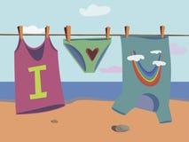 Imagem com t-shirt eu te amo Foto de Stock