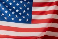 imagem completa do quadro da bandeira de Estados Unidos da América fotos de stock royalty free