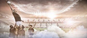 Imagem composta da imagem composta digital do estádio Fotos de Stock