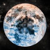 Imagem composta de Digital da terra do planeta Imagem de Stock Royalty Free