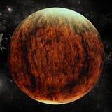 Imagem composta de Digitas da terra do planeta Foto de Stock