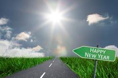 Imagem composta do ano novo feliz Imagens de Stock