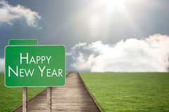 Imagem composta do ano novo feliz Foto de Stock Royalty Free