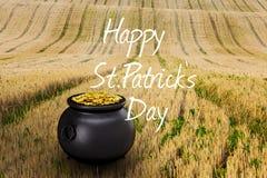 Imagem composta do dia feliz dos patricks do st Fotos de Stock
