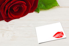 Imagem composta do fim do extremo acima nos bordos vermelhos lindos Foto de Stock
