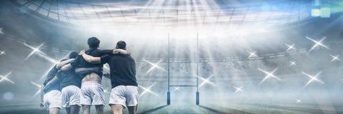 Imagem composta do passo do rugby Imagens de Stock