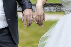Imagem comum do dia do casamento Fotos de Stock Royalty Free