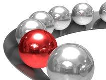 Imagem conceptual da liderança Imagem de Stock Royalty Free