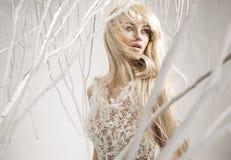 Imagem conceptual de uma mulher atrativa imagem de stock royalty free