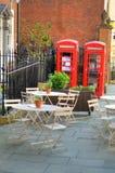 Imagem conservada em estoque da arquitetura velha em Nottingham, Inglaterra Imagens de Stock Royalty Free