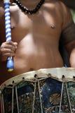 Imagem conservada em estoque da celebração cultural de Polinésia imagens de stock royalty free