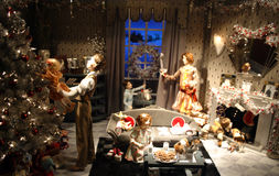 Imagem conservada em estoque da decoração do Natal nos EUA Foto de Stock Royalty Free