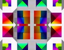 Imagem conservada em estoque da geometria do Fractal ilustração stock