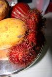 Imagem conservada em estoque de frutos tropicais Imagens de Stock