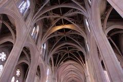 Imagem conservada em estoque de Grace Cathedral, San Francisco, EUA imagens de stock