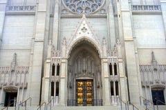Imagem conservada em estoque de Grace Cathedral, San Francisco, EUA foto de stock