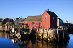 Imagem conservada em estoque de Hammond Castle, Massachusetts, EUA Foto de Stock Royalty Free