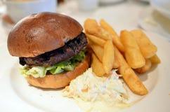 Imagem conservada em estoque de sanduíches de clube com fritadas Foto de Stock