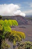Imagem conservada em estoque de vulcões parque nacional de Havaí, EUA Imagens de Stock