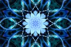 Imagem conservada em estoque do caleidoscópio do inverno ilustração royalty free