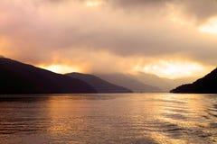 Imagem conservada em estoque do lago Hakone, Japão Fotos de Stock