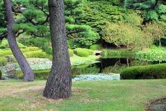 Imagem conservada em estoque do palácio imperial, Tóquio, Japão imagens de stock royalty free