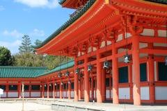 Imagem conservada em estoque do santuário de Heian, Kyoto, Japão Foto de Stock