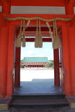 Imagem conservada em estoque do santuário de Heian, Kyoto, Japão Foto de Stock Royalty Free