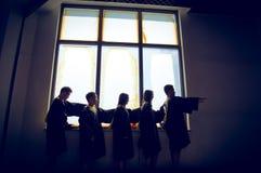 Imagem criativa 5 da graduação do grupo asiático fotografia de stock royalty free