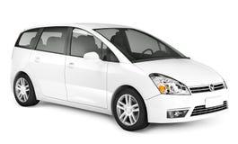 imagem 3D do carro luxuoso de SUV Fotos de Stock