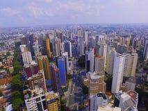 Imagem da antena da cidade Imagem de Stock Royalty Free