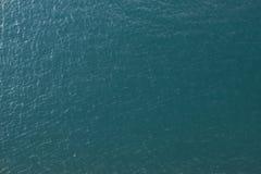 Imagem da antena da textura da água Foto de Stock
