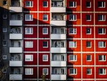 Imagem da arquitetura da cidade de munich com construções grandes foto de stock
