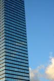 Imagem da arquitetura do arranha-céus com espaço da cópia Fotos de Stock Royalty Free