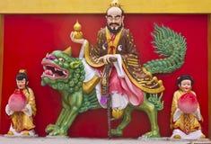 Imagem da arte do chinês de buddha Imagens de Stock